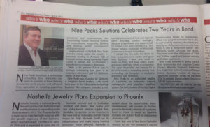 Cascade Business News | Nine Peaks Solutions