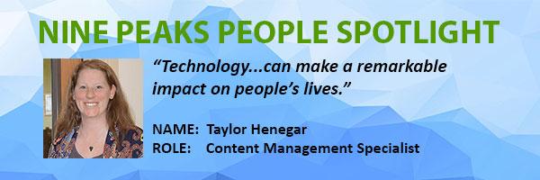 Nine Peaks Solutions | Taylor Henegar