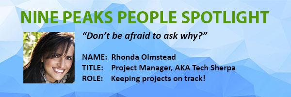 Nine Peaks Solutions | Rhonda Olmstead