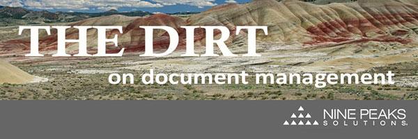 Document Management   Nine Peaks Solutions